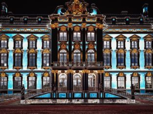 Palace de Catherine, Russie
