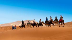 Désert, Maroc