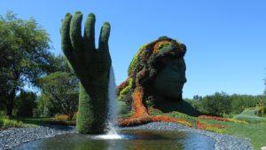 Jardin botanique, Canada