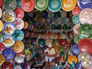 Souk, Maroc