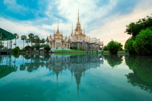 Temple, Thaïlande