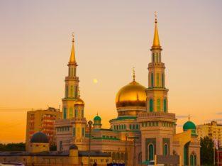Cathdrale Mosquée de Moscou, Russie
