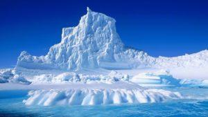 Glacier, Russie