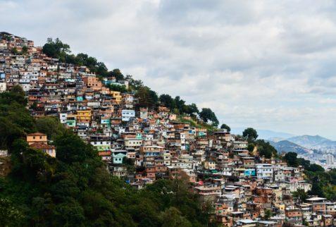 Favela, Rio de Janeiro, Brésil