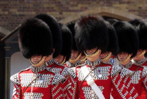 Garde Royale, Londres