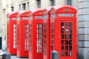 Cabine de téléphone, Londres