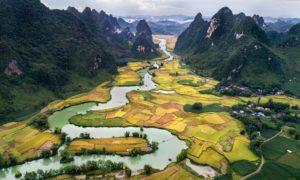 Paysage, Vietnam