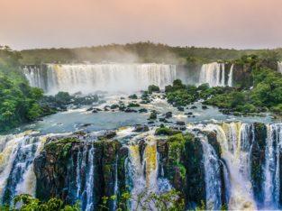 Chutes, Brésil